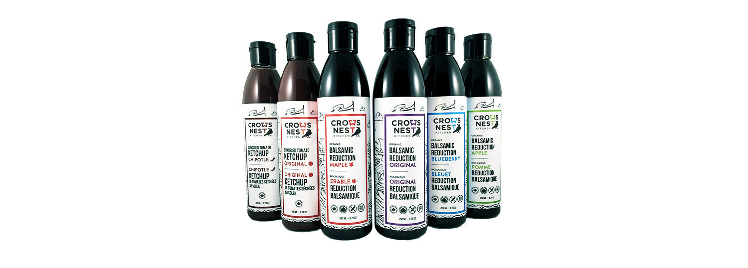 Crow's Nest Balsamic Vinegars